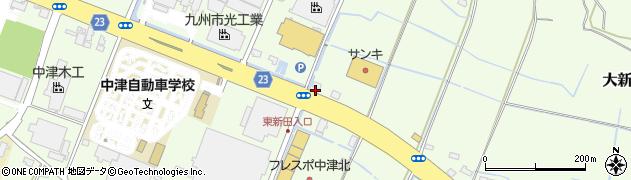 大分県中津市大新田271周辺の地図