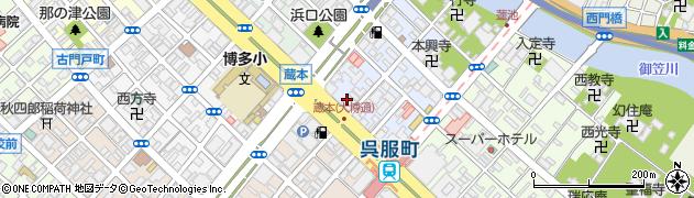 株式会社ネクステージ 呉服町給油所周辺の地図