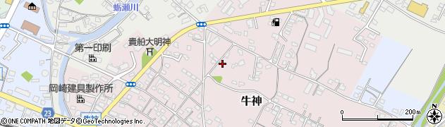 大分県中津市牛神97-1周辺の地図
