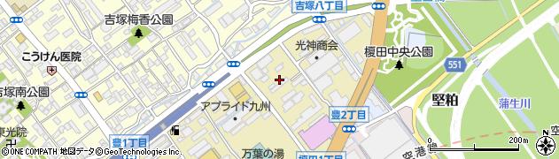 西日本エムシー株式会社周辺の地図