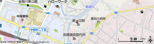 大分県中津市蛎瀬771周辺の地図