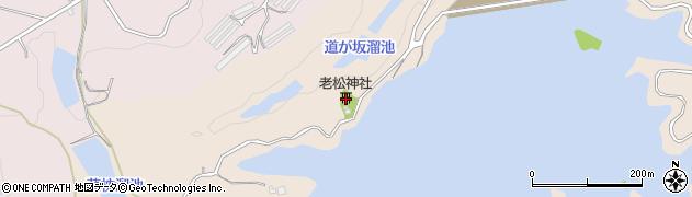 老松神社周辺の地図