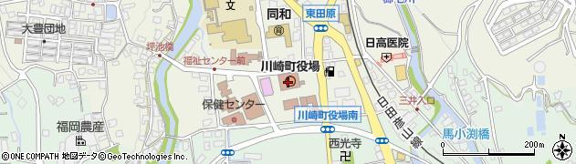 福岡県田川郡川崎町周辺の地図