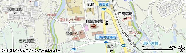 福岡県川崎町(田川郡)周辺の地図
