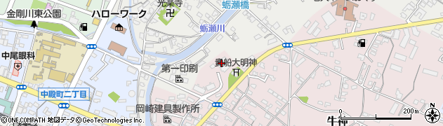 大分県中津市牛神398周辺の地図