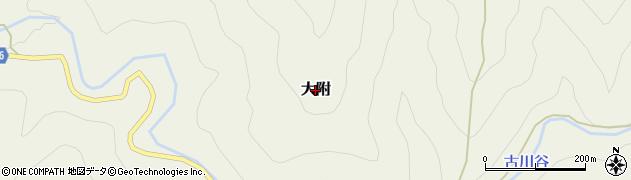 和歌山県すさみ町(西牟婁郡)大附周辺の地図