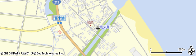 大分県国東市国東町富来浦2314周辺の地図