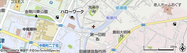 大分県中津市蛎瀬724周辺の地図