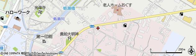 大分県中津市牛神83周辺の地図