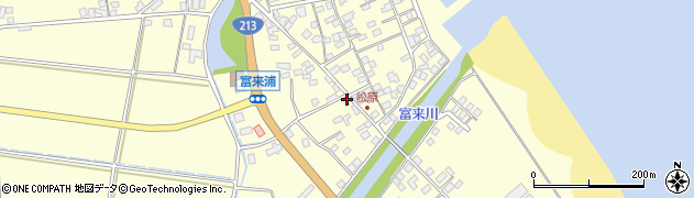 大分県国東市国東町富来浦2282周辺の地図