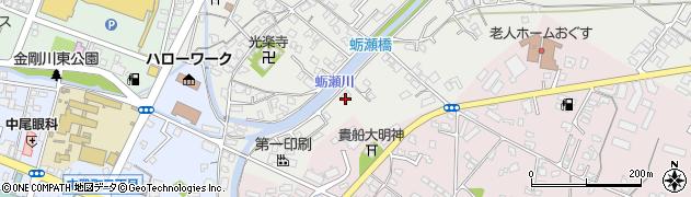 大分県中津市蛎瀬766周辺の地図
