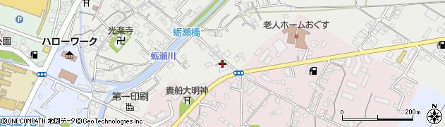 大分県中津市蛎瀬777周辺の地図