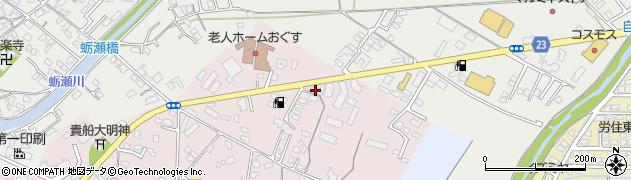 大分県中津市牛神34周辺の地図