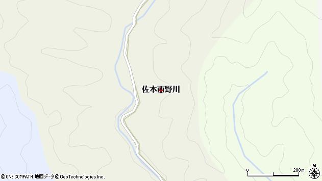 〒649-3166 和歌山県西牟婁郡すさみ町佐本西野川の地図