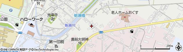 大分県中津市蛎瀬776周辺の地図