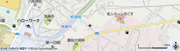 大分県中津市蛎瀬726周辺の地図