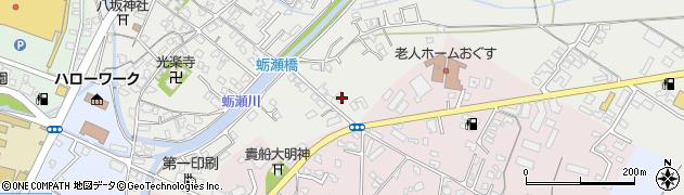 大分県中津市蛎瀬782周辺の地図