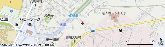 大分県中津市蛎瀬775周辺の地図