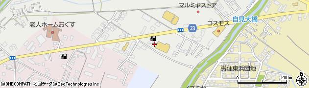 大分県中津市蛎瀬833周辺の地図