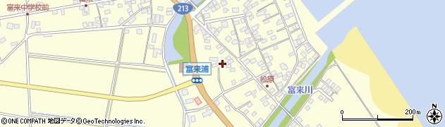 大分県国東市国東町富来浦2266周辺の地図