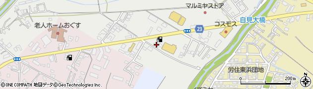 大分県中津市蛎瀬834周辺の地図