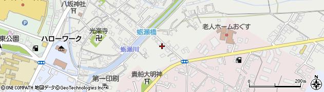大分県中津市蛎瀬761周辺の地図
