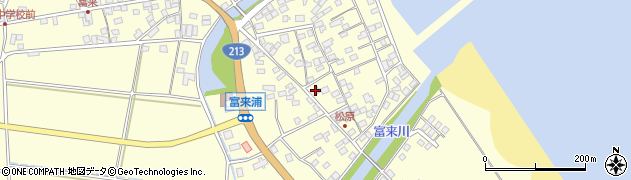 大分県国東市国東町富来浦2110周辺の地図
