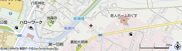 大分県中津市蛎瀬787周辺の地図