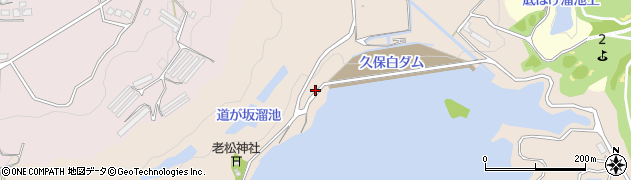 福岡県飯塚市久保白周辺の地図