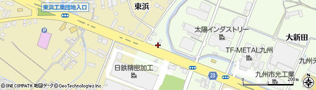 大分県中津市大新田12周辺の地図
