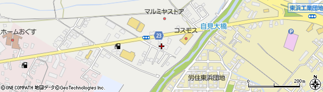 大分県中津市蛎瀬851周辺の地図