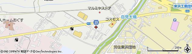 大分県中津市蛎瀬850-1周辺の地図