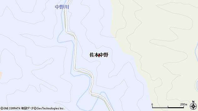 〒649-3165 和歌山県西牟婁郡すさみ町佐本中野の地図