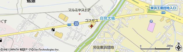 大分県中津市蛎瀬854周辺の地図