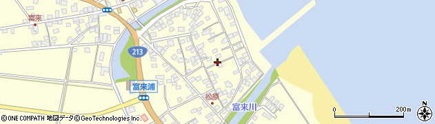 大分県国東市国東町富来浦2212周辺の地図