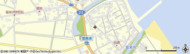 大分県国東市国東町富来浦2076周辺の地図