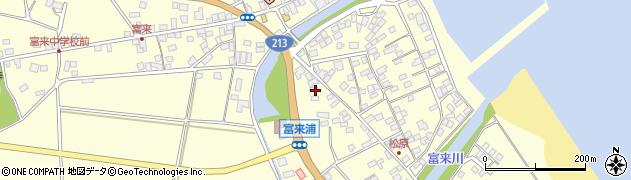 大分県国東市国東町富来浦2093周辺の地図