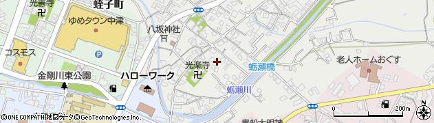 大分県中津市蛎瀬704周辺の地図