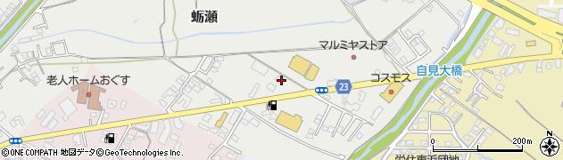 大分県中津市蛎瀬835周辺の地図