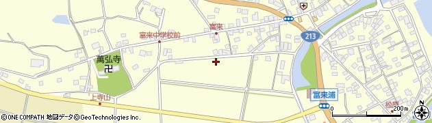 大分県国東市国東町富来浦浦手周辺の地図