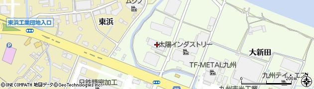 大分県中津市大新田480周辺の地図