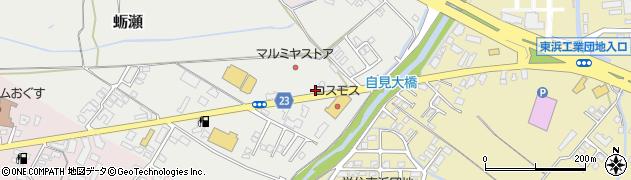大分県中津市蛎瀬860周辺の地図