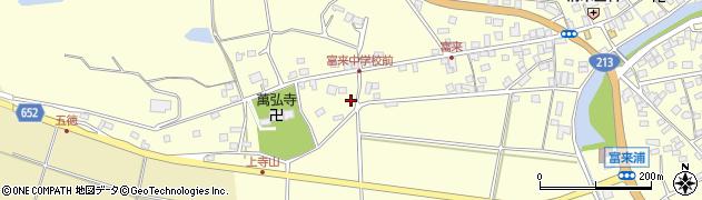 大分県国東市国東町富来浦124周辺の地図