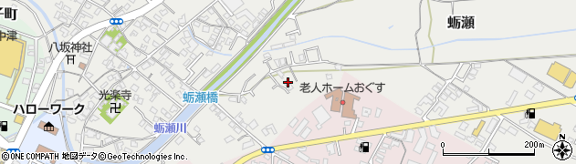 大分県中津市蛎瀬795周辺の地図