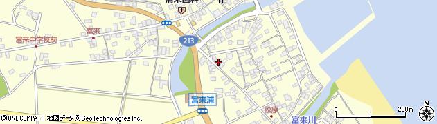 大分県国東市国東町富来浦2102周辺の地図