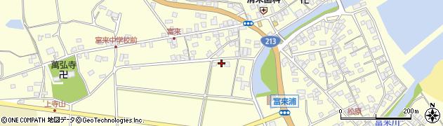 大分県国東市国東町富来浦1560周辺の地図