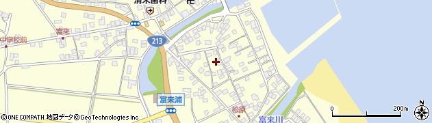 大分県国東市国東町富来浦2178周辺の地図