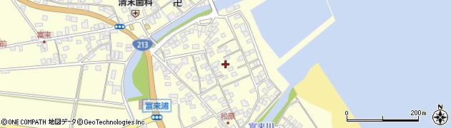 大分県国東市国東町富来浦2189周辺の地図