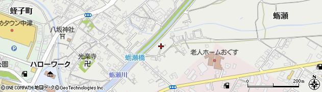 大分県中津市蛎瀬754周辺の地図
