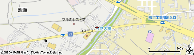 大分県中津市蛎瀬1130周辺の地図